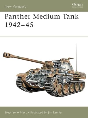 cover image of Panther Medium Tank 1942-45