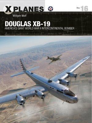 cover image of Douglas XB-19