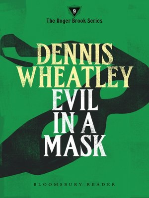 cover image of Evil in a Mask
