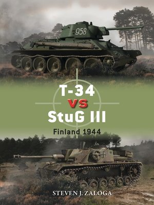 cover image of T-34 vs StuG III
