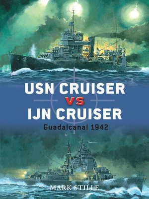 cover image of USN Cruiser vs IJN Cruiser