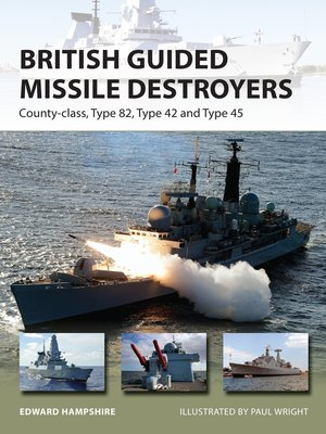 cover image of British Guided Missile Destroyers