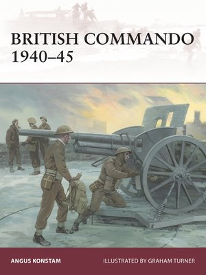 cover image of British Commando 1940–45