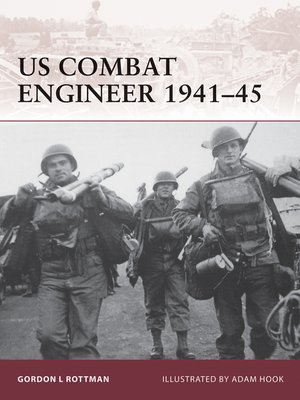 cover image of US Combat Engineer 1941–45
