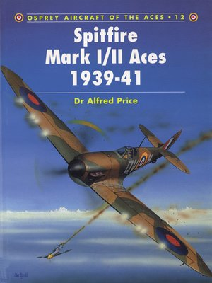cover image of Spitfire Mark I/II Aces 1939–41