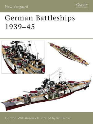 cover image of German Battleships 1939-45