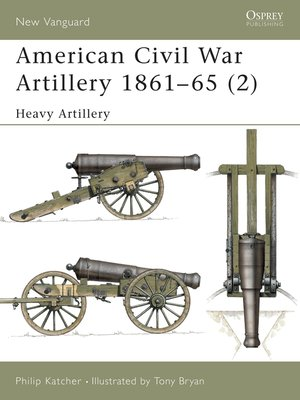 cover image of American Civil War Artillery 1861-65 (2)