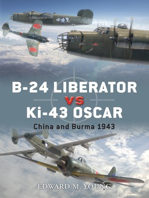 cover image of B-24 Liberator vs Ki-43 Oscar