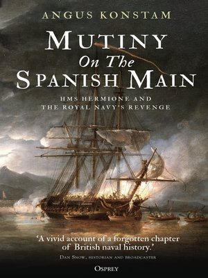 cover image of Mutiny on the Spanish Main