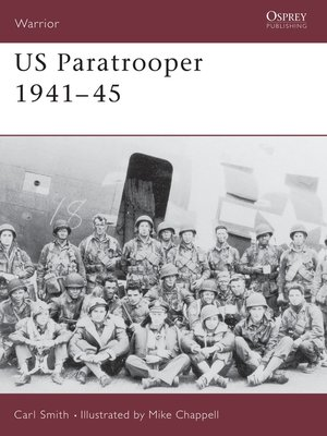 cover image of US Paratrooper 1941-45