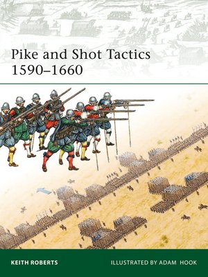 cover image of Pike and Shot Tactics 1590-1660