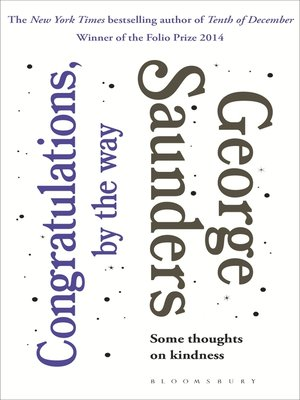 cover image of Congratulations, by the way