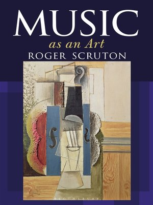 cover image of Music as an Art