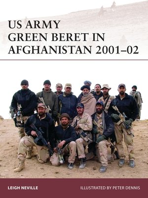 cover image of US Army Green Beret in Afghanistan 2001–02