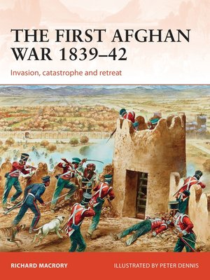 cover image of The First Afghan War 1839–42