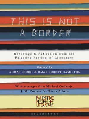 cover image of This Is Not a Border
