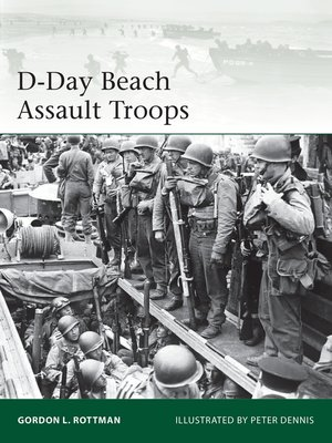 cover image of D-Day Beach Assault Troops