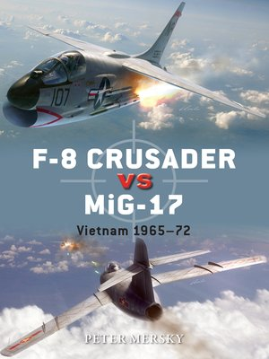 cover image of F-8 Crusader vs MiG-17