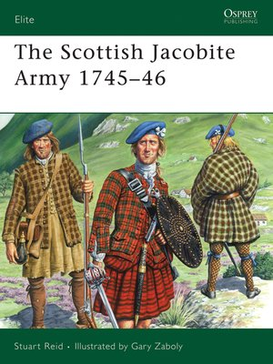 cover image of The Scottish Jacobite Army 1745-46