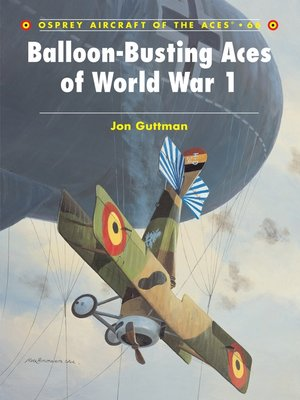 cover image of Balloon-Busting Aces of World War 1