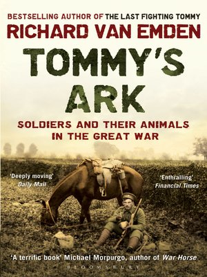 cover image of Tommy's Ark