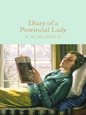 cover image of Diary of a Provincial Lady