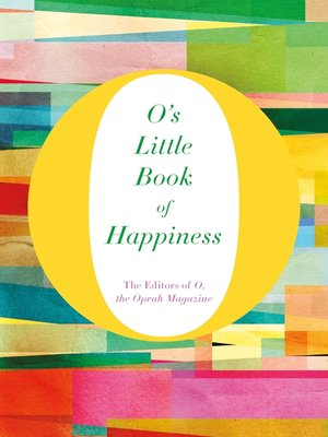 cover image of O's Little Book of Happiness