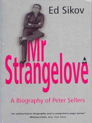cover image of Mr Strangelove