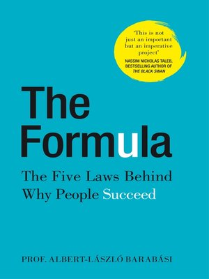 cover image of The Formula