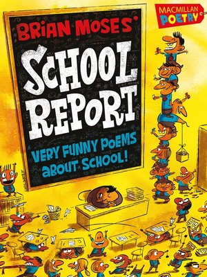 cover image of Brian Moses' School Report