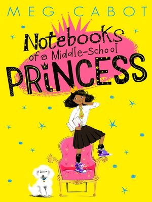 cover image of Notebooks of a Middle-School Princess