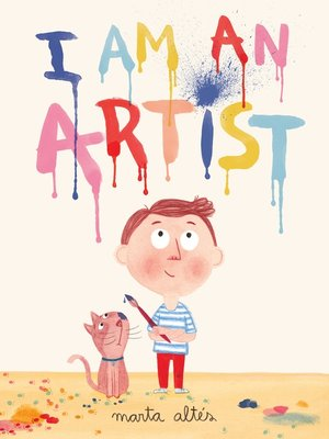 cover image of I Am an Artist