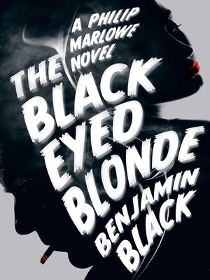 cover image of The Black Eyed Blonde