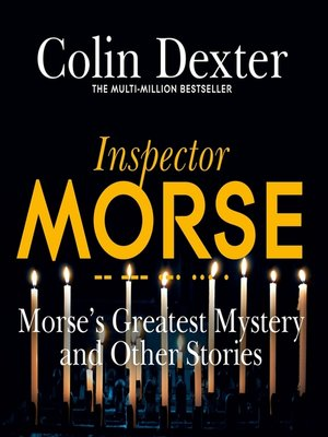 cover image of Morse's Greatest Mystery and Other Stories