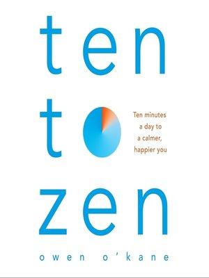 cover image of Ten to Zen