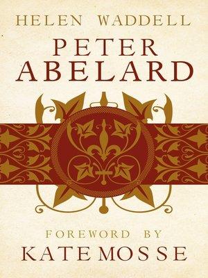 cover image of Peter Abelard