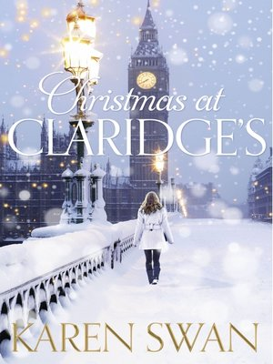 cover image of Christmas at Claridge's
