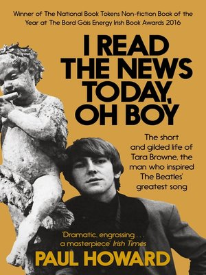 cover image of I Read the News Today, Oh Boy
