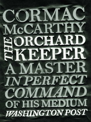 cover image of The Orchard Keeper