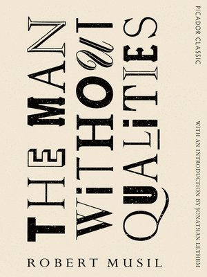 cover image of The Man Without Qualities