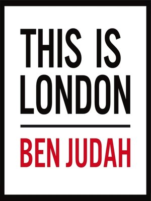 cover image of This is London