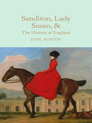 cover image of Sanditon, Lady Susan, & the History of England