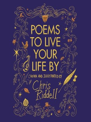 cover image of Poems to Live Your Life By