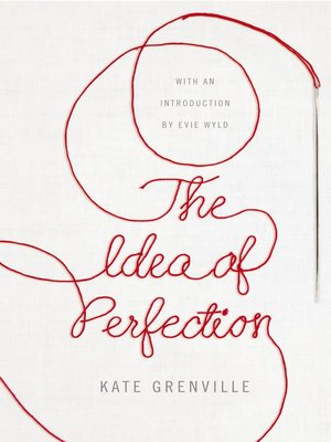 cover image of The Idea of Perfection