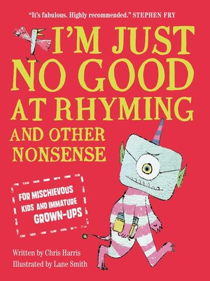 cover image of I'm Just No Good At Rhyming