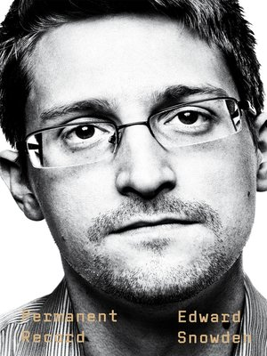 Book cover image for Permanent Record by Edward Snowden