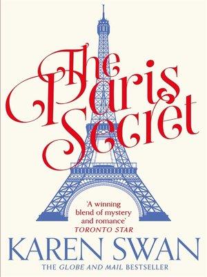 cover image of The Paris Secret