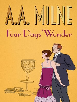 cover image of Four Days' Wonder