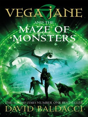 cover image of Vega Jane and the Maze of Monsters