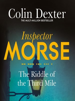 cover image of The Riddle of the Third Mile